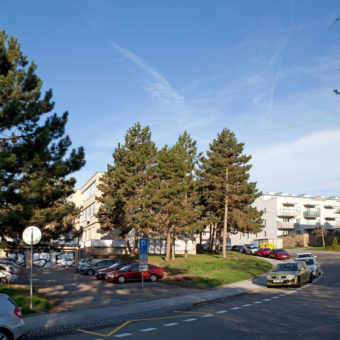 D-Ex Brno-parkoviště