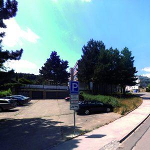 D-Ex Brno - parkoviště