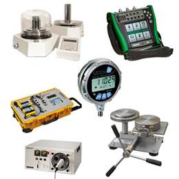 kalibrátory tlaku, teploty a elektrických veličin