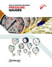 Pressure Gauges Catalog - Deformační manometry Ham-Let