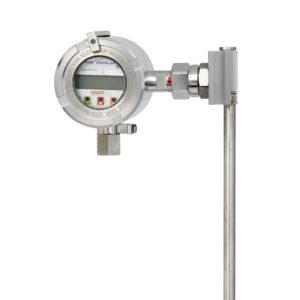 Kontinuální magnetostrikční snímač pro stavoznak