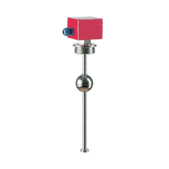 Plovákový magnetický snímač hladiny s odporovým řetězcem