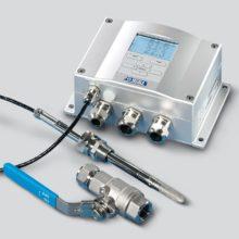 HMT338_Pro měření přes kulový ventil