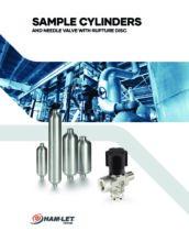 Sample Cylinders Catalog - Vzorkovací nádoby – Sample Cylinders