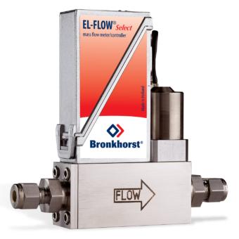 EL-FLOW Select regulátor hmotnostního průtoku
