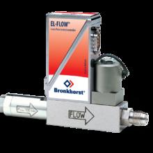 Hmotnostní průtokoměr EL-FLOW Select s ochranným částicovým filtrem