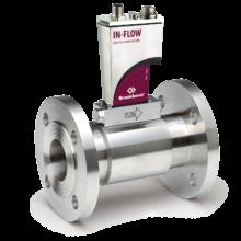 IN-FLOW hmotnostní průtokoměr v provedení s přírubovým uchycením