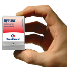 IQ+ FLOW průtokoměr v miniaturním provedení
