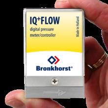 IQ+ FLOW - senzor nebo regulátor tlaku v miniaturním provedení, Elektronické tlakoměry