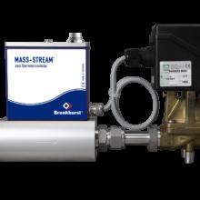 MASS-STREAM s ventilem Buchjost