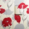 Ukázka dekorativního krytu na převodníku HMW90 - tapeta květiny