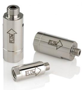 Ochranné částicové filtry pro hmotnostní průtokoměr