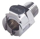 LCD10004BSPT - Přímá hadicová spojka se závitem 1/4 BSPT s ventilem