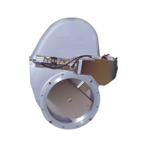 Uzavírací vakuový kyvadlový ventil