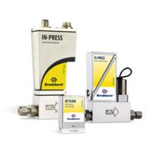 Elektronické tlakoměry a regulátory tlaku