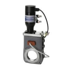 Pneumatický vakuový šoupátkový ventil s otopným obalem