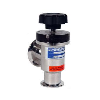 Manuální poppet ventil s přírubami NW/ISO-KF