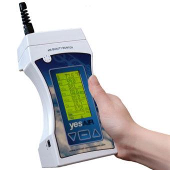 YES AIR – osmikanálový přístroj pro měření kvality vnitřního vzduchu