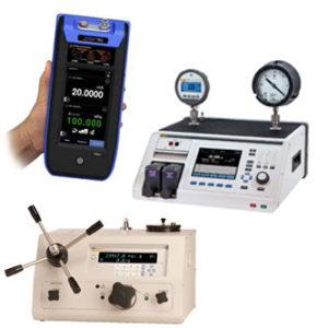 Kalibrátory a regolátory tlaku