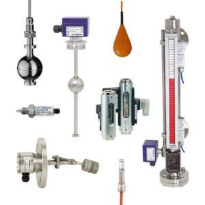 Přístroje pro měření výšky hladiny KSR Kuebler