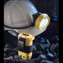 Bezpečnostní důlní přilbová svítilna L-50+