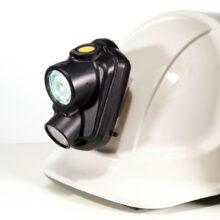 Bezpečnostní nabíjecí přilbová svítilna Alfa WL