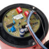 Deska elektroniky sirény DB12, Eaton MEDC, IP66, IP67, 110 dB, vstupy M20, červena, nastavení tónů a hlasitosti