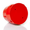Siréna DB12, Eaton MEDC, IP66, IP67, 110 dB, vstupy M20, červena, zespodu