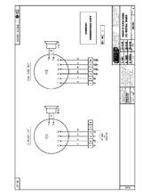 Zapojení svorek - verze DC - Siréna DB12