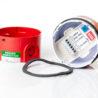 DB5 jiskrově bezpečná siréna MEDC, Exia, 24Vdc, 103dB, červená, do zóny 0, 1, 2, otevřená, označení svorek, přepínač tónů a regulace hlasitosti, DB5B024NR, PX805002