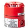 DB5 jiskrově bezpečná siréna EATON RTK (MEDC), Exia, 24Vdc, 103dB, červená, do zóny 0, 1, 2, certifikační štítek, zprava, DB5B024NR, PX805002
