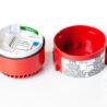 DB5 jiskrově bezpečná siréna MEDC, Exia, 24Vdc, 103dB, červená, do zóny 0, 1, 2, otevřená, označení svorek, certifikační štítek, DB5B024NR, PX805002