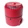 DB51 jiskrově bezpečná siréna EATON MEDC, Exia, 12 Vdc, 103dB, červená, do zóny 0, 1, 2, zadní strana, DB5B012NR, PX805001