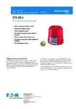 Katalogový list sirény DB5 (RTK) - Jiskrově bezpečná siréna DB5