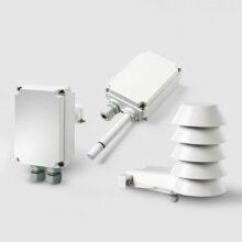 Převodníky vlhkosti a teploty řady HMDW110