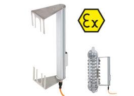 Osvětlovací jednotky pro skleněné transparentní a refrakční stavoznaky