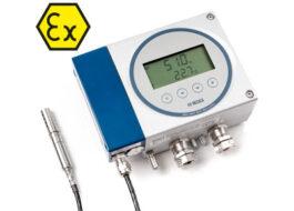Jiskrově bezpečné převodníky pro měření vlhkosti a teploty v oleji