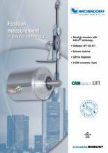 Měření polohy u výtahů - Řemenové systémy WDGM