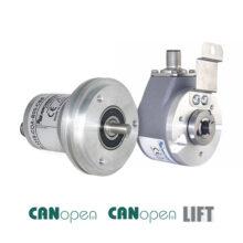 Absolutní snímače WDGA (CANopen a CANopen LIFT)