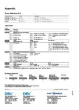 Tvorba objednacího kódu - Kontinuální odporový snímač BLR - Stavoznak s horní montáží UTN