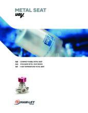 Metal Seat UCV catalog - Ultračisté membránové ventily HAM-LET