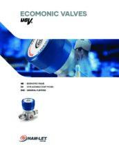 Economic Valves UCV catalog - Ultračisté membránové ventily HAM-LET