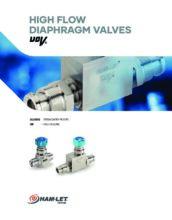 High Flow UCV catalog - Ultračisté membránové ventily HAM-LET