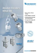 Absolutní enkodéry WDGA s protokolem SSI - Absolutní snímače WDGA (PROFINET-IO, EtherCAT a Universal-IE)