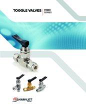 H-1200 Catalog - Páčkový ventil H-1200