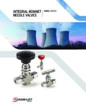 H-300U Catalog - Jehlový ventil H-300U