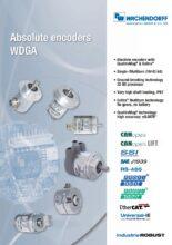 Absolutní enkodéry WDGA s EnDra® technologií - Absolutní snímače WDGA (PROFINET-IO, EtherCAT a Universal-IE)