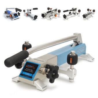 Ruční pumpy a lisy pro generování pneumatického tlaku Additel ADT900