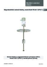 Manuál - Snímač hladiny FLM-T (FFG-T) - Magnetostrikční snímač hladiny FLM