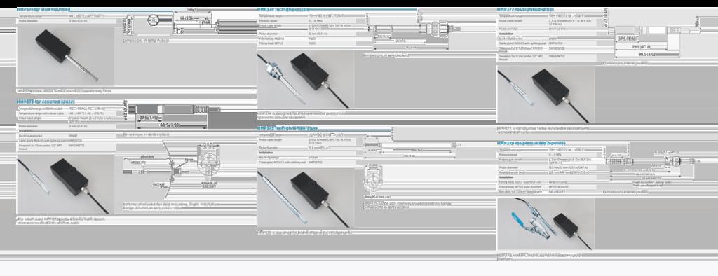 Varianty sond pro převodník HMP370EX